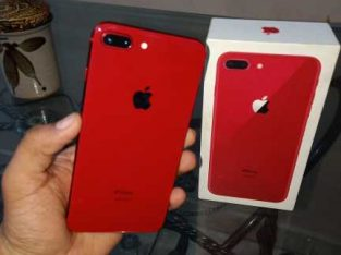 IPhone 8 plus with imei match box 64gb red edition