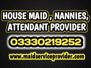 We Provide Maid, Attendant, nannies, Cook, Driver, Nursing staff, Helper etc