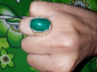 Pure Hussaini Feroza Silver Ring