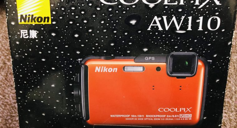 Nikon COOLPIX AW110 Waterproof, Freezeproof Shockproof