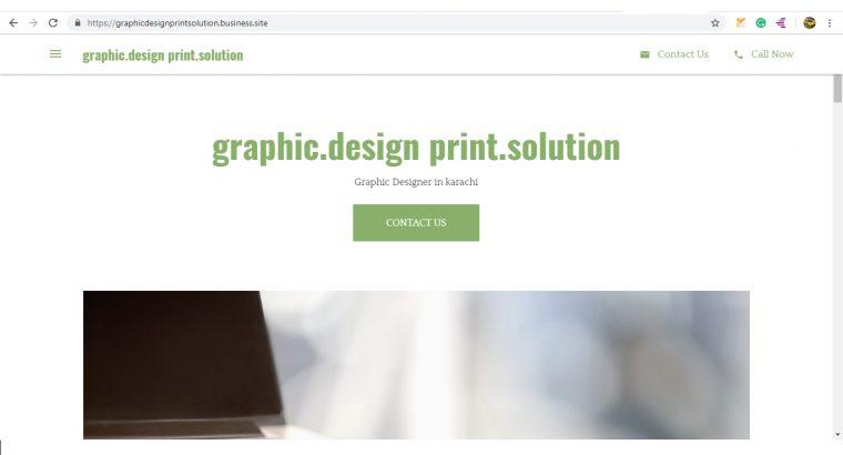 Graphic Design & Website Development