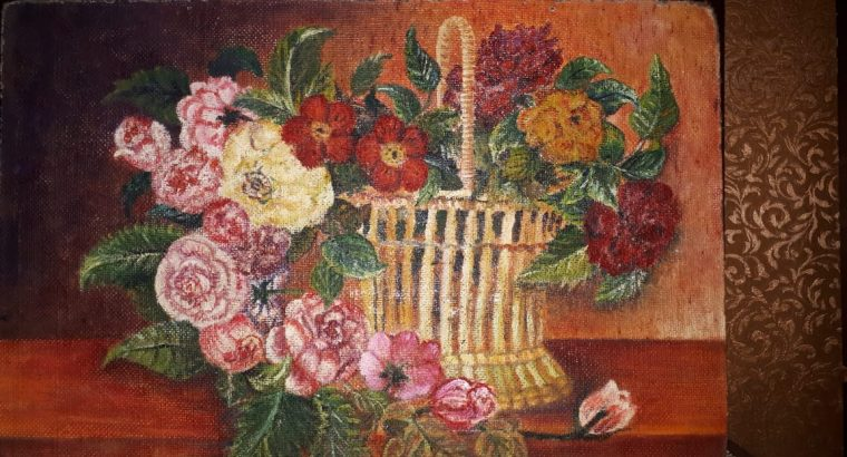 The diversified Basket of Flowers