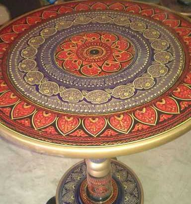 Wooden hand carved coffee tables