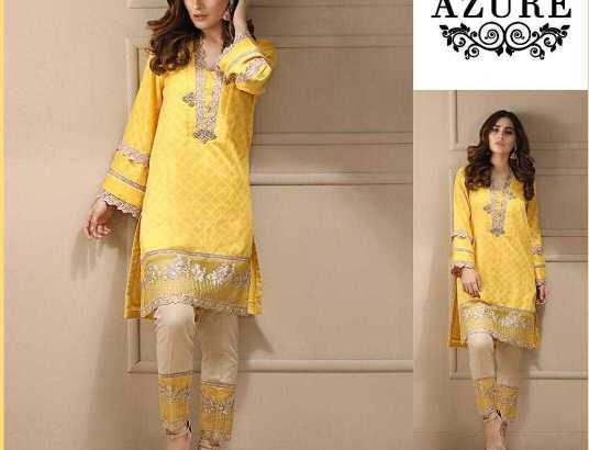 Brand Azure Avaible in Lawn fabrics 2 PC /-