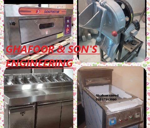 Deep fryer /pizza oven