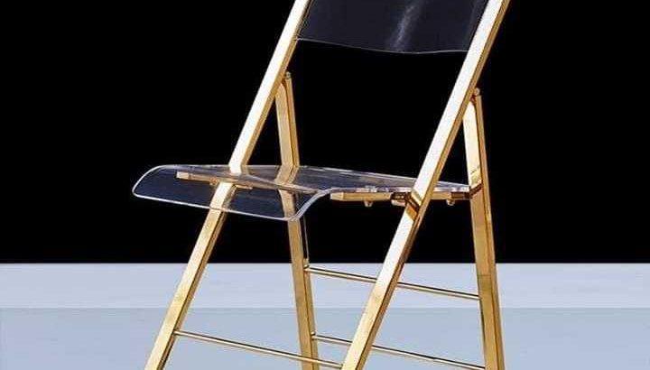Brass gold furniture