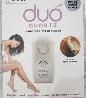 HoMedics Duo Quartz IPL Hair Remover