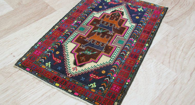 Pictorial Rug 4′ 5″ x 3′ 0″ (ft)