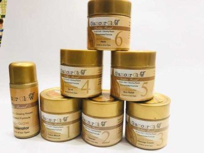 Professional Glmaour Glow Gold Facial Kit 7 in 1 (Parlour Facial)