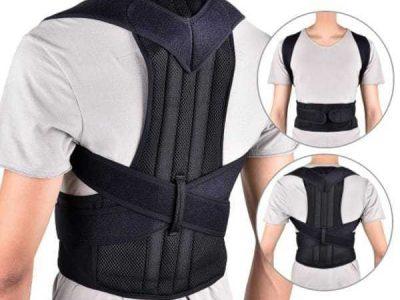 Posture Corrector Back Brace Adjustable Support Back Pain Relief Belt