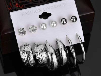 6 pieces Ear rings set