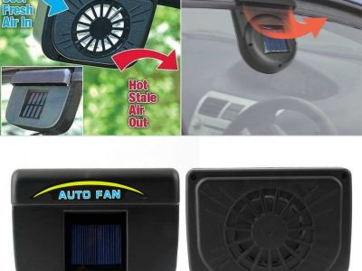 Solar Power Auto Cool Ventilation Car Fan