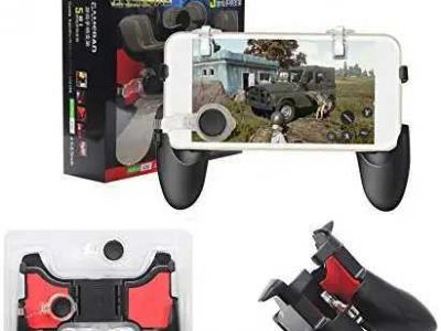 5 in 1 PUBG Mobile Phone Game Pad Trigger Shoot