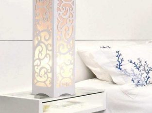 PVC Wood Plastic LED Table Lamp