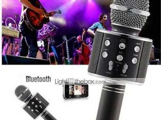 wireless Microphone Bluetooth USB Karaoke Mic Portable WS 858