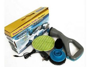Multifunction Electric Cleaning Brush Cordles Hurricane Muscle Scrubber