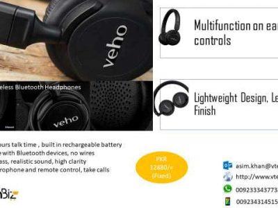 Headphones, speakers, lights