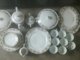dinner set marbal new