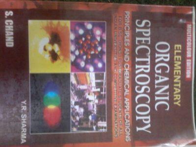 Organic Spectroscopy YR Sharma