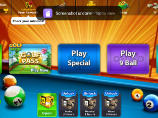 8 Ball Pool 2.4 Billion 2 Legendary Cues,