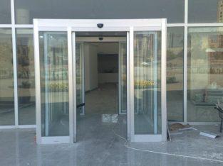 Sliding Tempered Glass Automation System